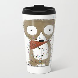 """""""Dogs make the best subjects"""" Metal Travel Mug"""