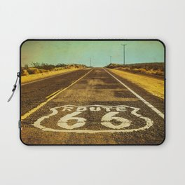 Route 66 Road Marker Laptop Sleeve