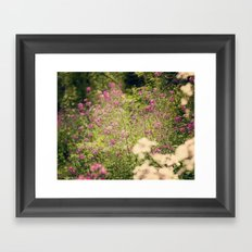 Spring dance Framed Art Print