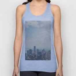 Looking down on the city ... Unisex Tank Top