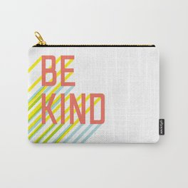 Be Kind typography Carry-All Pouch