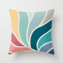 Sinouse leave beauty  Throw Pillow