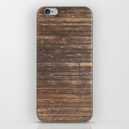 Wood Texture iPhone Skin
