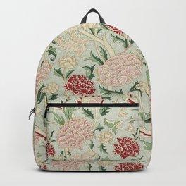 William Morris Cray Floral Pre-Raphaelite Vintage Art Nouveau Pattern Backpack