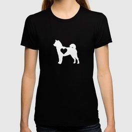 Shiba Inu Heart Shiba Inu Dog Lover Japanese Puppy Gift T-shirt