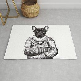 Astro Frog Rug