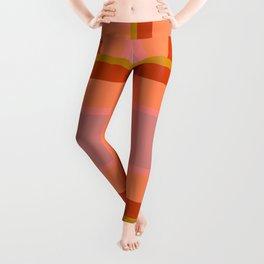 Pattern Gride 1 Leggings
