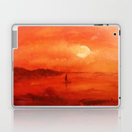 Sunset on the southern coast. Laptop & iPad Skin