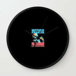 Cute Pony Wall Clock