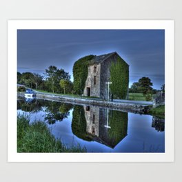 Old Storehouse along the Royal Canal Art Print