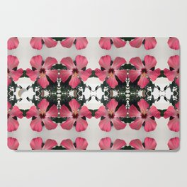 Hibiscus Photographic Pattern #2 Cutting Board