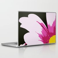 mod Laptop & iPad Skins featuring Mod Daisy by Tru Images Photo Art
