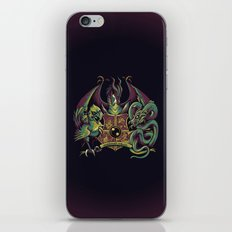 Guardian Forces iPhone & iPod Skin