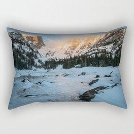 Dream Lake Sunrise Rectangular Pillow