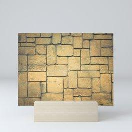 Stone Geometric Mini Art Print