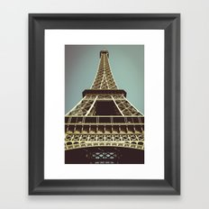 Eiffel Framed Art Print