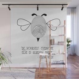 Bee Yourself Wall Mural