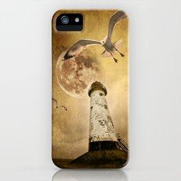 the lunar flight iPhone Case