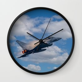 Eurofighter Typhoon Jet Wall Clock