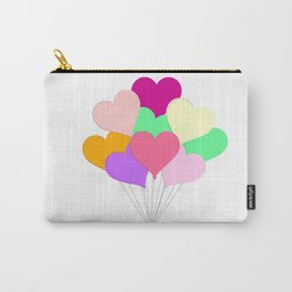 Balloon Bouquet for Valentines Day Carry-All Pouch