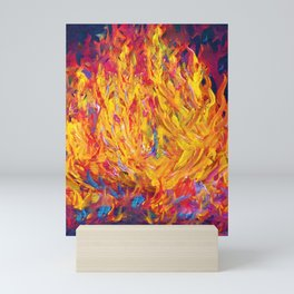 Fire and Passion - Here's to New Beginnings Mini Art Print