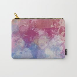 Bright Pastel Paint Splash Abstract Carry-All Pouch