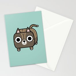 Cat Loaf - Brown Tabby Kitty Stationery Cards