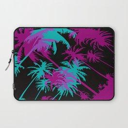 California Palm Trees at Night  Laptop Sleeve