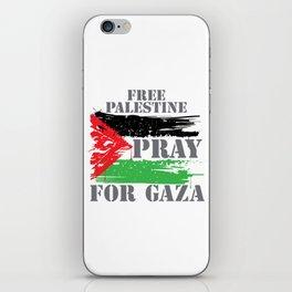 VINTAGE FREE PALESTINE iPhone Skin