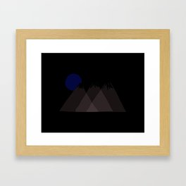 Mountainous  Framed Art Print