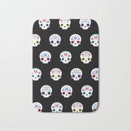 Cute sugar skulls B Bath Mat