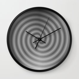 balanced black Wall Clock