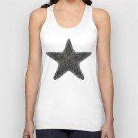 starfish Tank Tops featuring Starfish; ornate starfish by Barruf