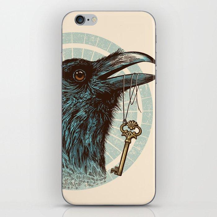 Raven's Head iPhone Skin