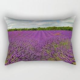 Lavender Landscape (Version 1)  Rectangular Pillow