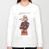 kakashi Long Sleeve T-shirts featuring Dattebayo! by Gianbe