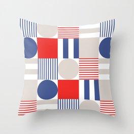 Modern Patriotism  Throw Pillow