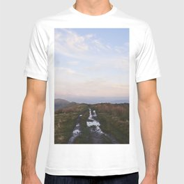 Rushup Edge at sunset. Derbyshire, UK. T-shirt