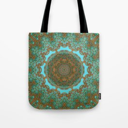 Spiritual art - Diaphanous moods mandala  Tote Bag