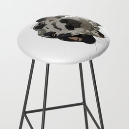 Great Dane dog in your face Bar Stool