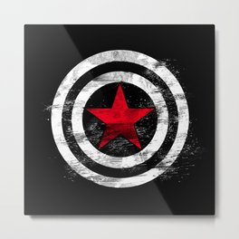 Winter Soldier Metal Print