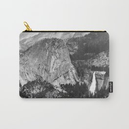Vernal Falls and Nevada Falls in Yosemite National Park, California, 1901 Carry-All Pouch