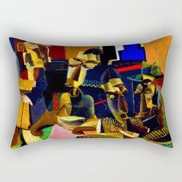 Max Weber The Visit Rectangular Pillow