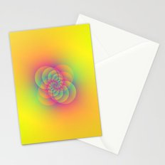 Four Spirals Stationery Cards