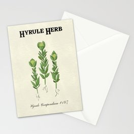 Hyrule Herb Botanical Print Stationery Cards