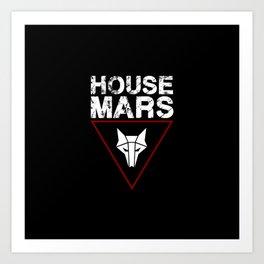House Mars Art Print