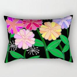 Plasticine Flowers with Dandelion Seed Rectangular Pillow