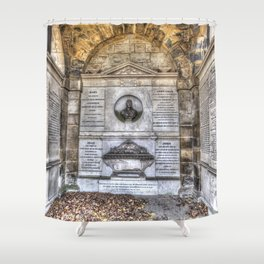 John Adam Architect Greyfriars Shower Curtain