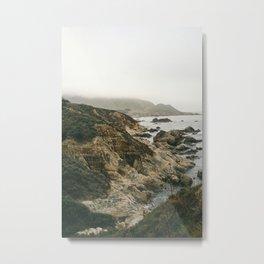 The Coastline Metal Print
