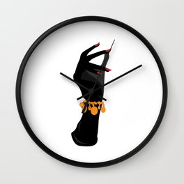 Retro Arm Candy Wall Clock
